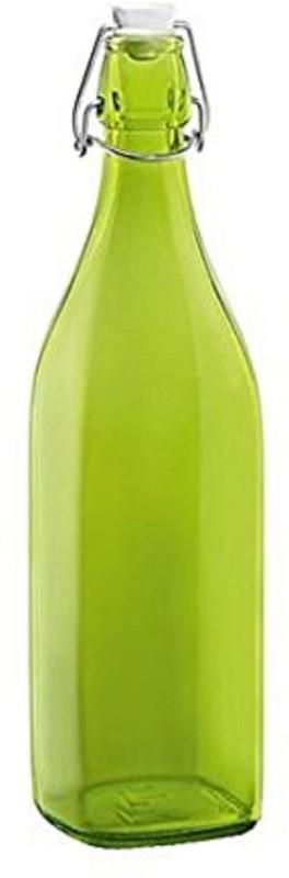 Blue Birds USA Homeware Glass Bottle 1000 ml Bottle(Pack of 1, Green)