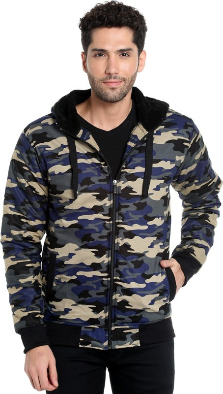 Campus Sutra Full Sleeve Solid Men's Casual Jacket