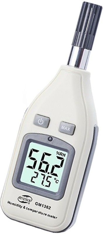 Wavespectrum Benetech GM1362 Humidity and Temperature Meter All-in-One Digital Moisture Measurer(0 mm)