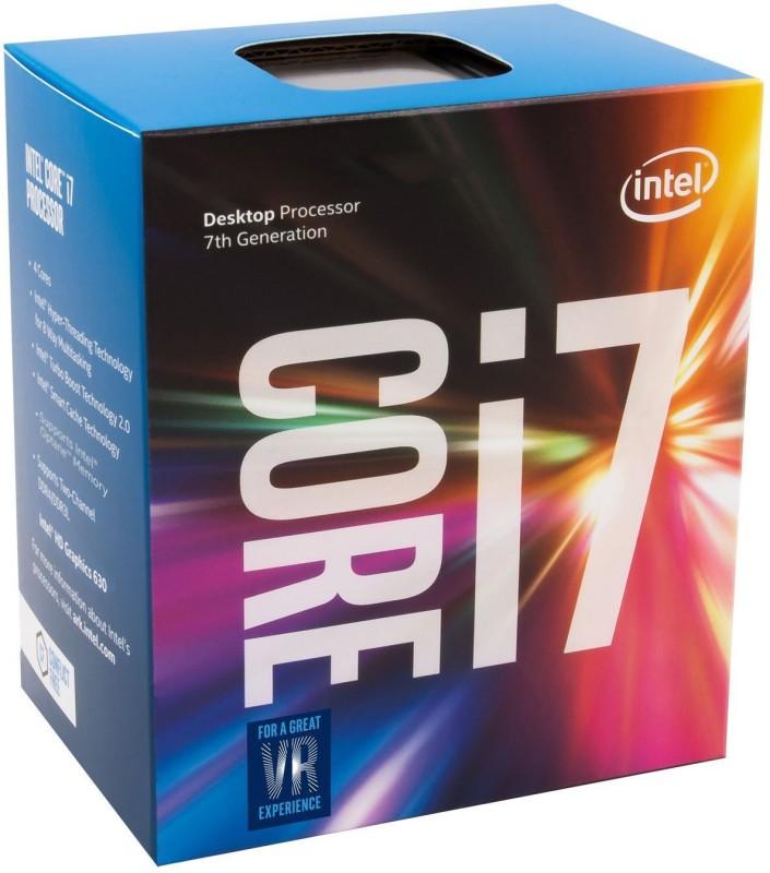 Intel 3.6 GHz LGA 1151 Core i7 7700 Processor(Grey) image