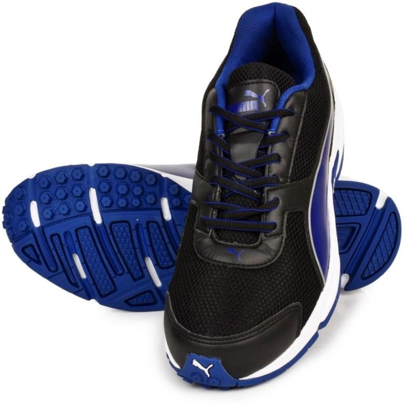 Puma ADAMO IDP Running Shoes(Blue, Black)
