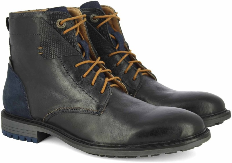Alberto Torresi Boots For Men(Blue)