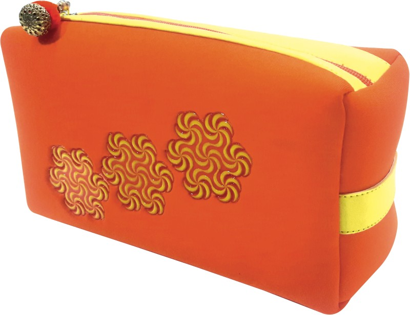 ACE TRENDS Cosmetic Pouch(Orange)