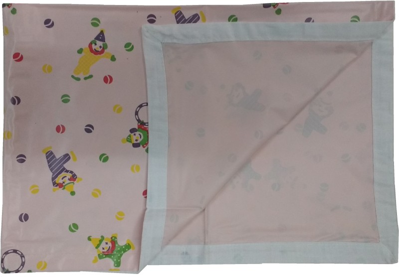 Love Baby Plastic, PVC (Polyvinyl Chloride) Baby Bed Protecting Mat(Pink, Extra Large)