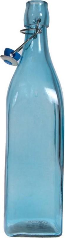 Blue Birds USA Homeware glass Bottle, 1000 ml Bottle(Pack of 1, Blue)