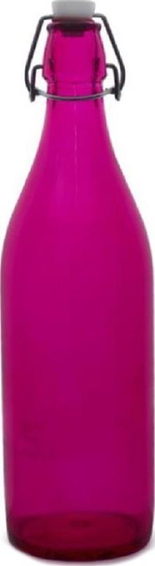 Blue Birds USA Homeware high quality glass bottle 1000 ml Bottle (Pack of 1, Multicolor) 1000 ml Bottle(Pack of 1, Pink)
