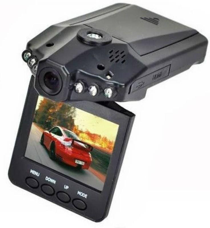 Maya CCTV Camera Wireless CCTV Camera and Car DVR with 2.5 Inches LCD screen and Night Vision Camcorder(Black) image
