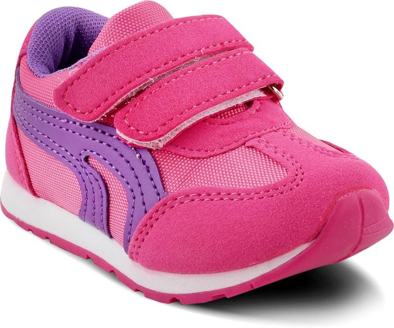 KITTENS Girls Velcro Running Shoes(Pink)