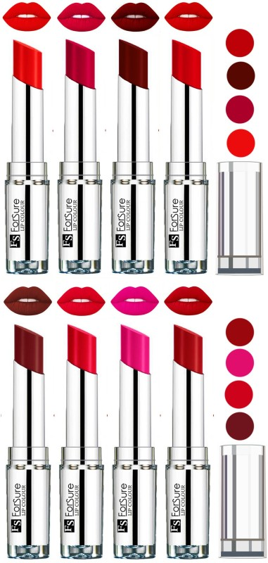 Forsure Magenta,Maroon,Romantic Red,Orange,Wine,Ruby Red,Rose Pink,Sweet Red VELVET MATTE LIPSTICK(Magenta,Maroon,Romantic Red,Orange,Wine,Ruby Red,Rose Pink,Sweet Red, 32 g)