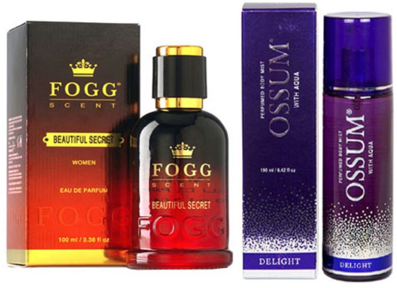 FOGG BEAUTIFUL SECRET PERFUME 90ML+ OSSUM DELIGHT Perfume - 115 ml(For Women)