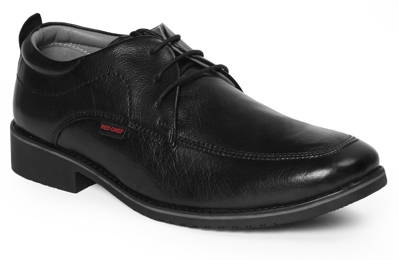 Red Chief Lace Up For Men(Black)