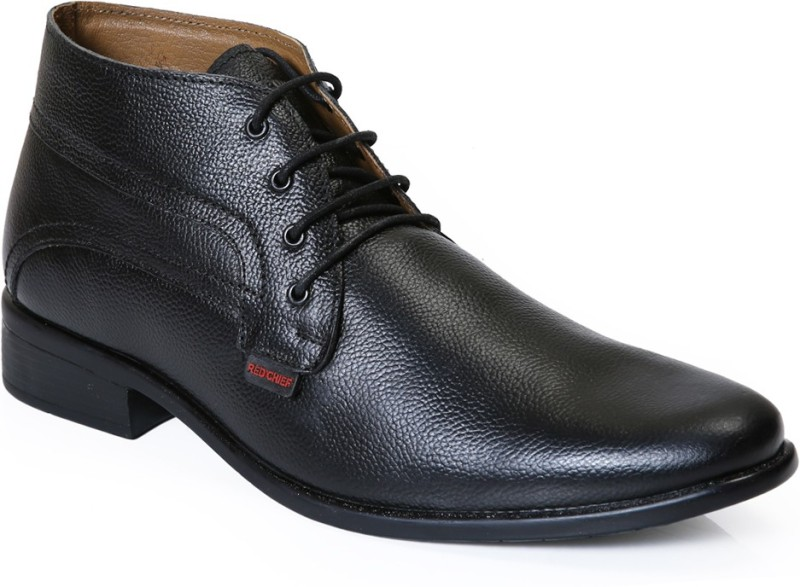 Red Chief RC2381 Boots For Men(Black)