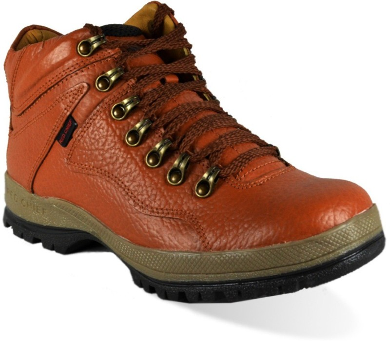 Red Chief RC2506 Boots For Men(Tan)