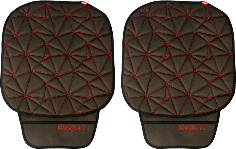 Elegant Cloth Seating Pad For Maruti Suzuki Ertiga(Driver, Co-Driver Black, Red)