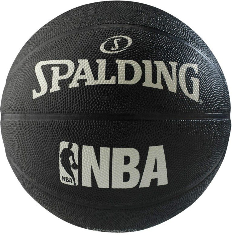 SPALDING 2015 ALLEY-OOP Basketball - Size: 7(Pack of 1, Black)