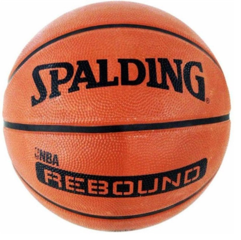 SPALDING Rebound NBA Basketball - Size: 5(Pack of 1, Brown)