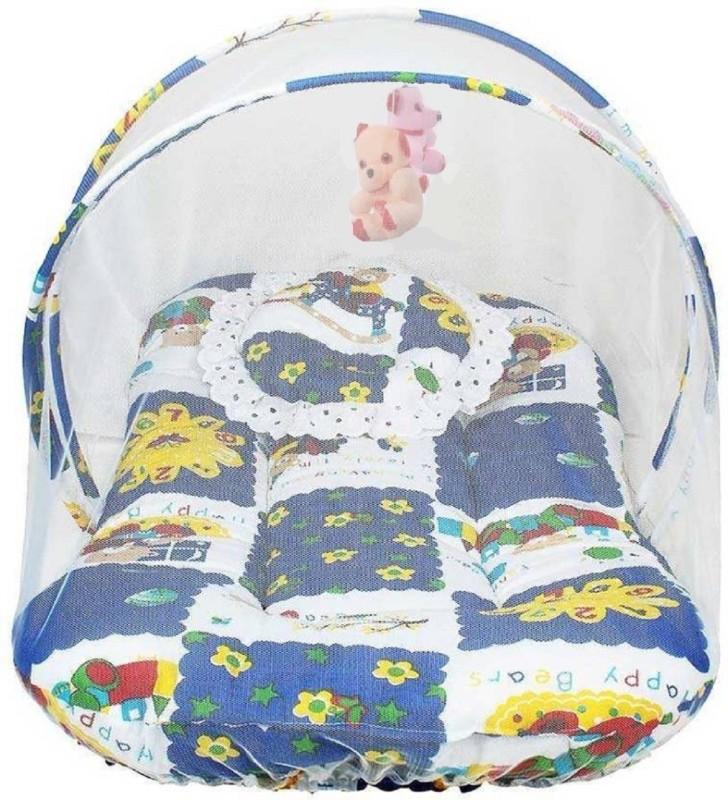 Aayat Kids Cotton Bedding Set(Multicolor3, Bedding Set with Hanging Toys)