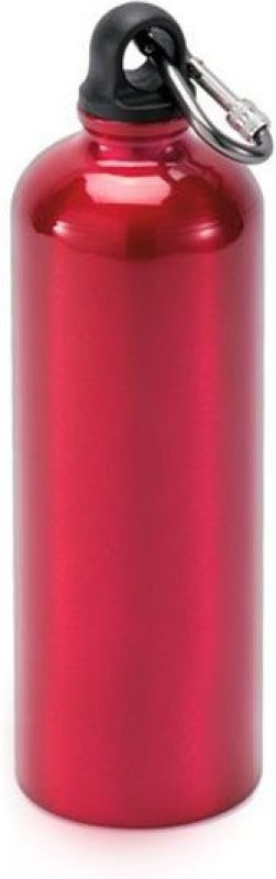 Blue Birds USA Homeware Aluminium Sports Bottle Red 750 ml Bottle(Pack of 1, Red)