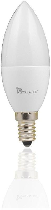 Syska 5 W Candle E14 LED Bulb(Yellow)