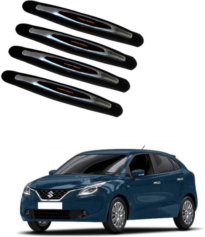 AdroitZ Plastic Car Door Guard(Black, Pack of 4, Maruti, Baleno)