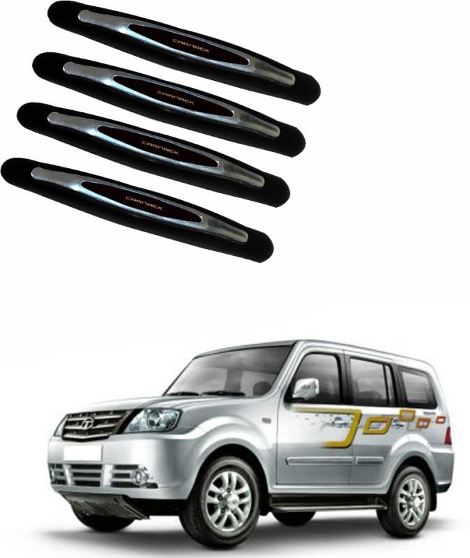 AdroitZ Plastic Car Door Guard(Black, Pack of 4, Tata, Sumo Grande)
