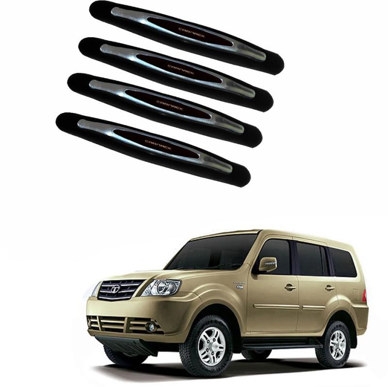 AdroitZ Plastic Car Door Guard(Black, Pack of 4, Tata, Grand Dicor)
