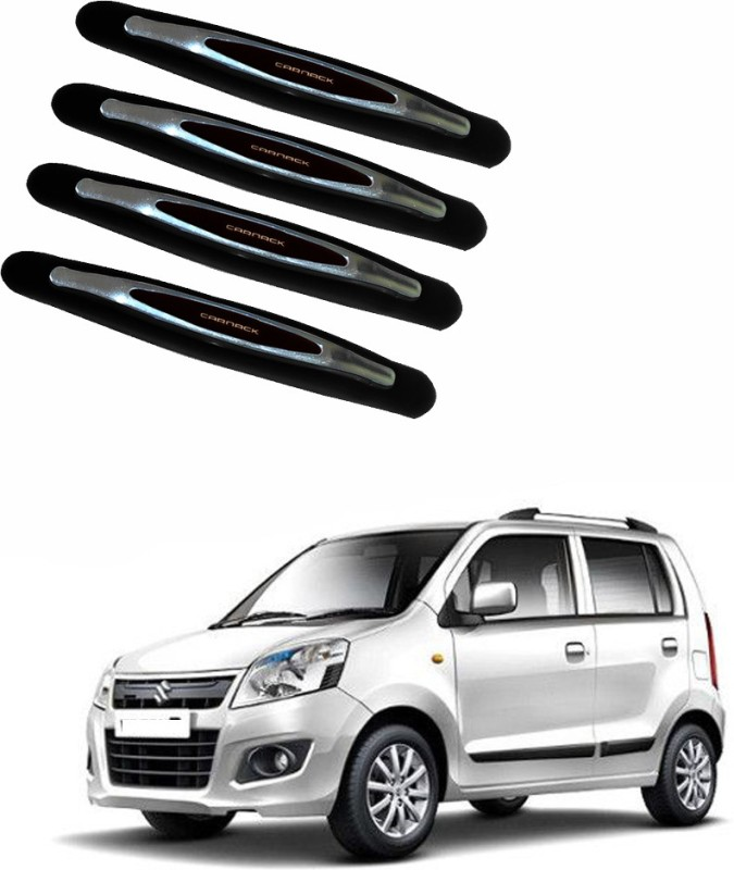 AdroitZ Plastic Car Door Guard(Black, Pack of 4, Maruti, WagonR)