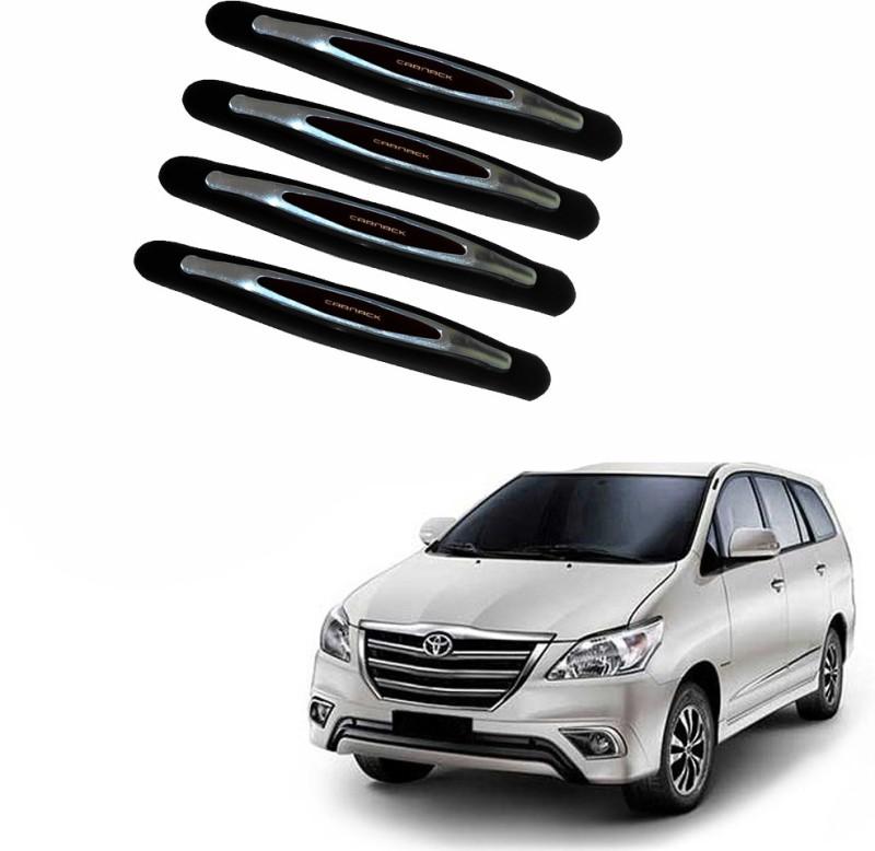AdroitZ Plastic Car Door Guard(Black, Pack of 4, Toyota, Innova)