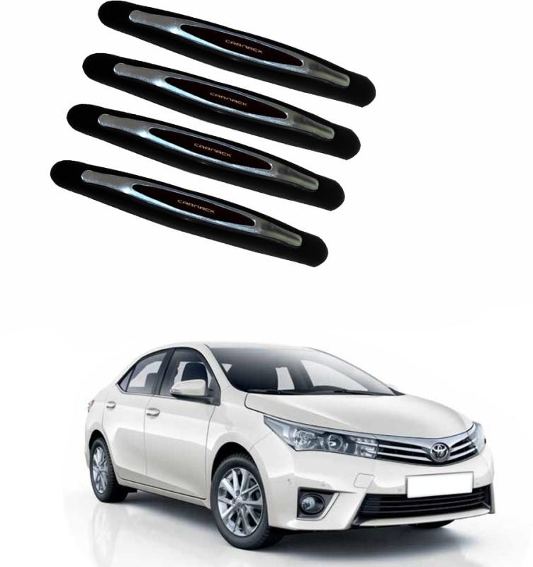 AdroitZ Plastic Car Door Guard(Black, Pack of 4, Toyota, Corolla)