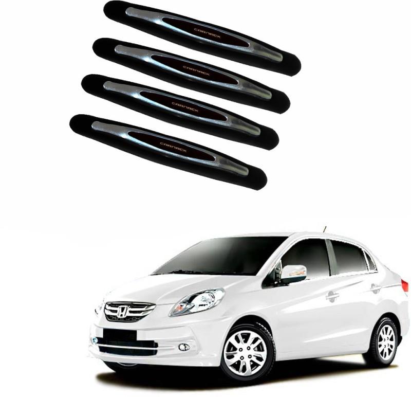 AdroitZ Plastic Car Door Guard(Black, Pack of 4, Honda, Amaze)