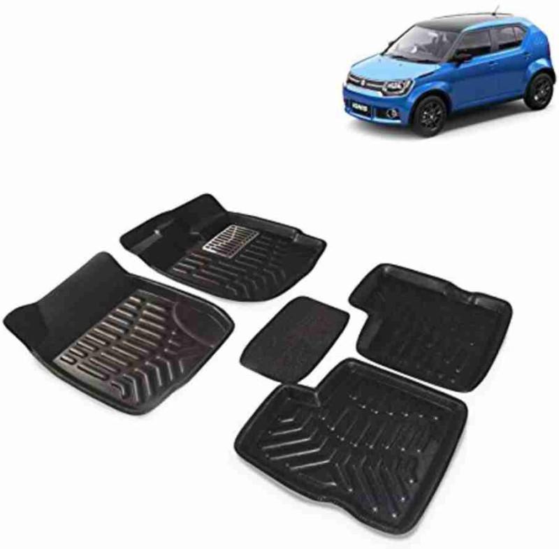 A K Traders Plastic Standard Mat For Honda Brio(Black)