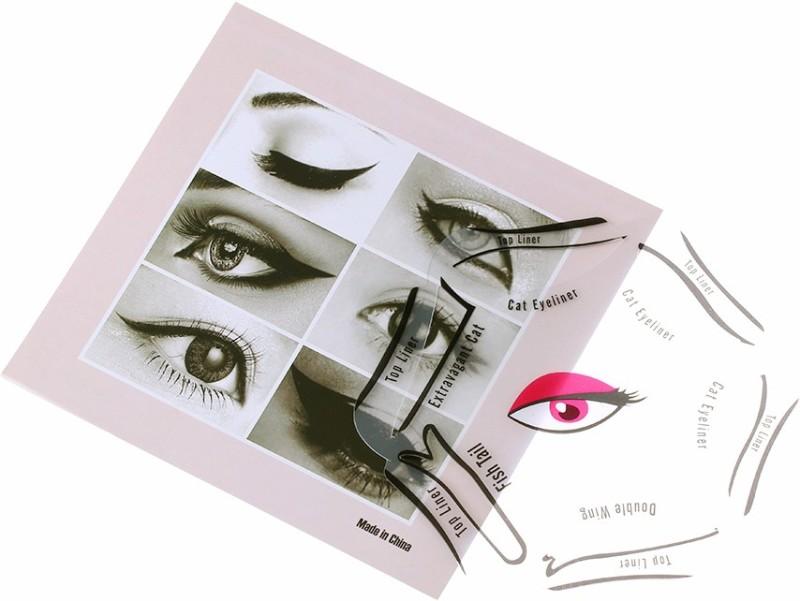 KYRAHH 6 in 1 Cat Eye Liner Stencil Eyebrow Stencil(1)