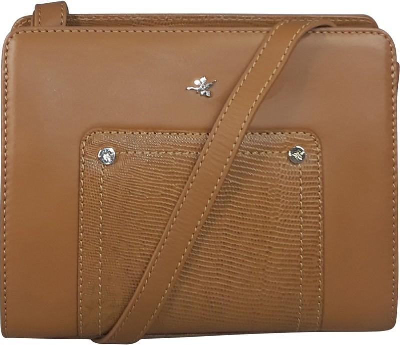 Ilex London Brown Sling Bag