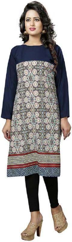 GO BANSY FASHION Rayon Printed Kurti Fabric(Un-stitched)