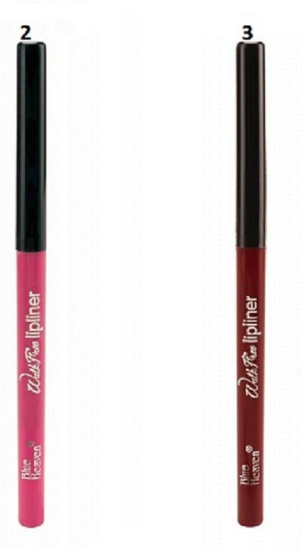Blue Heaven walk free lip liner -02,03 (set of 2)(multicolour)