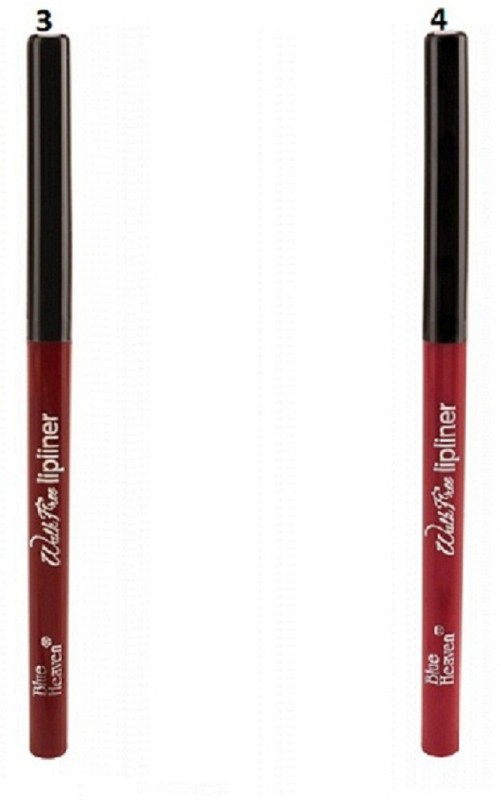 Blue Heaven walk free lip liner -03,04 (set of 2)(multicolour)