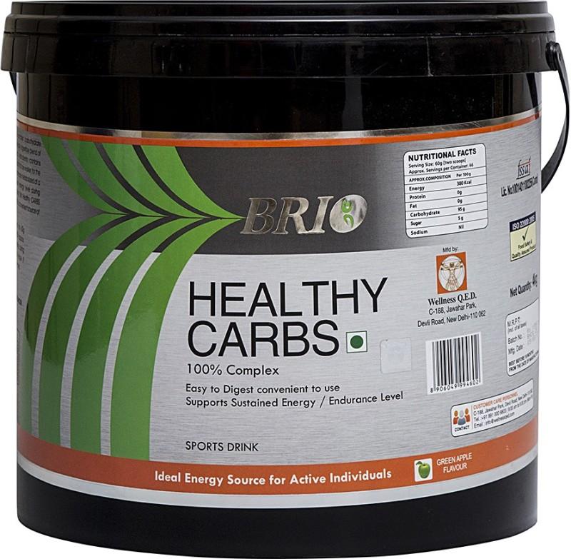 Brio Healthy Carbs Nutrition Drink(4 kg, Apple Flavored)