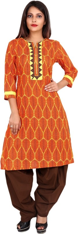 TEEJ Embellished, Embroidered Kurti & Salwar(Stitched)