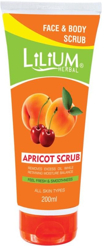 LILIUM Apricot Scrub 200ml Scrub(200 ml)