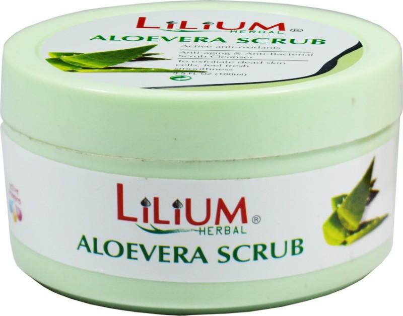 LILIUM Aloe Vera Scrub 100ml Scrub(100 ml)