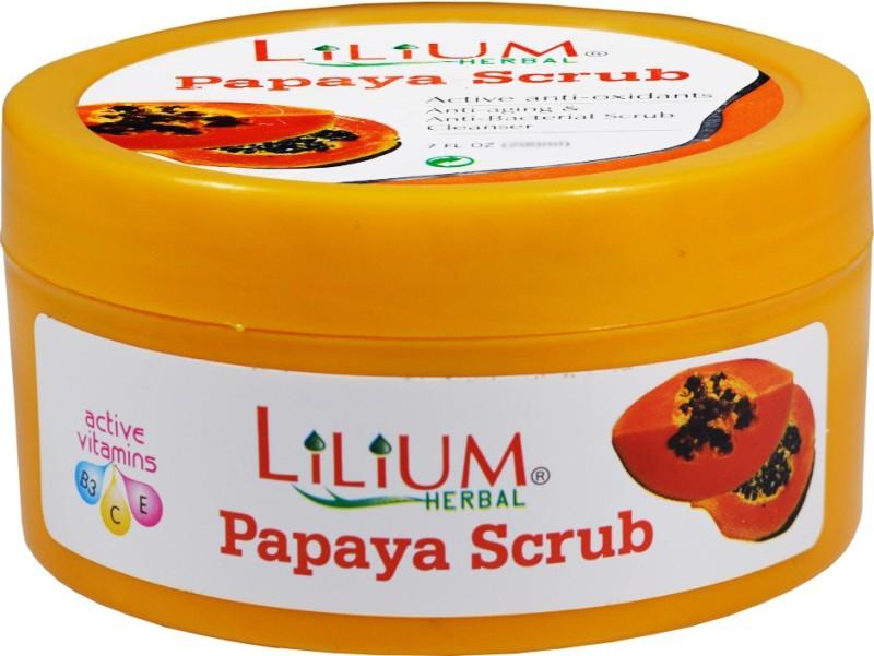 LILIUM Papaya Scrub 100ml Scrub(100 ml)