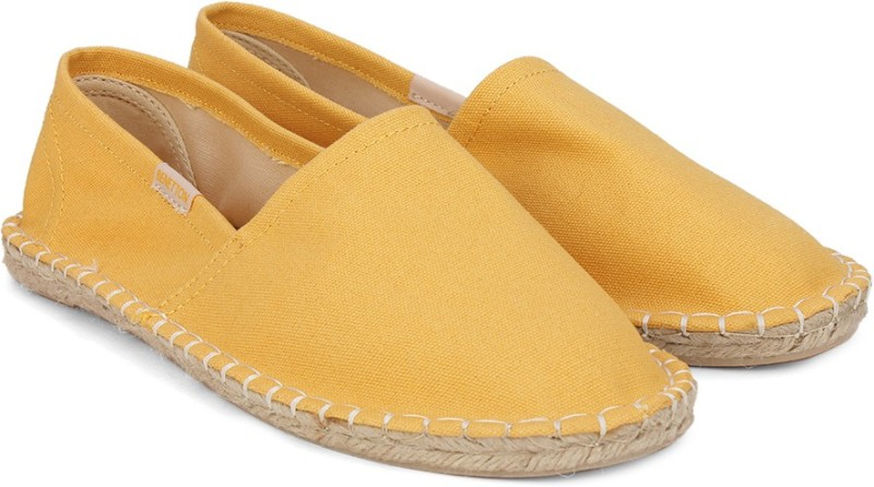 United Colors of Benetton Loafers For Men(Yellow)