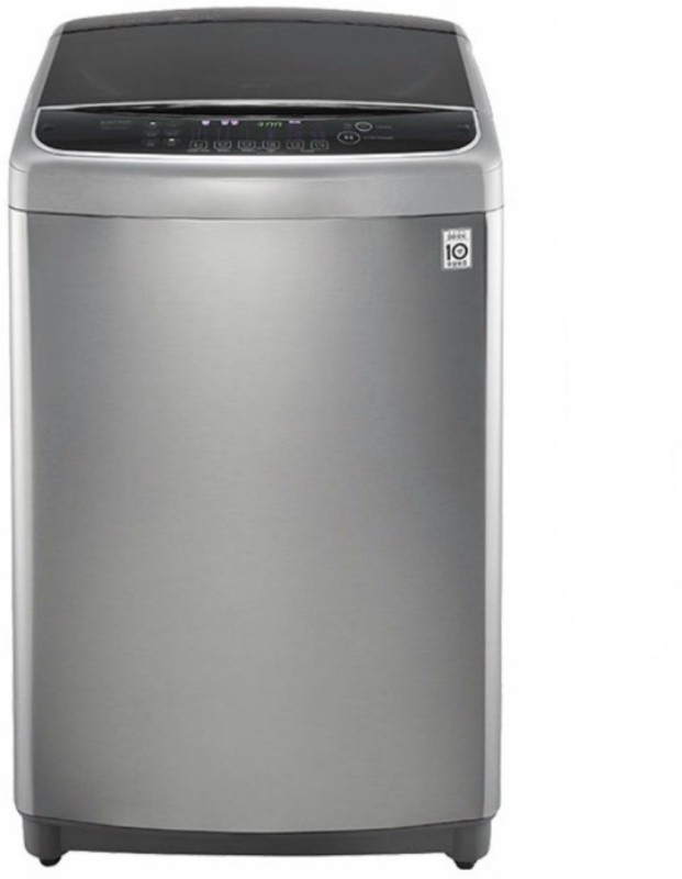 LG 11 kg Fully Automatic Top Load Washing Machine Silver, Black(T1064HFES5A)
