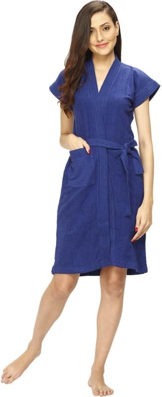 Vixenwrap Blue Free Size Bath Robe(1 Bath Robe, For: Women, Blue)