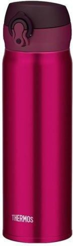 Thermos One Push Flask Bottle 350 ml Flask(Pack of 1, Maroon)