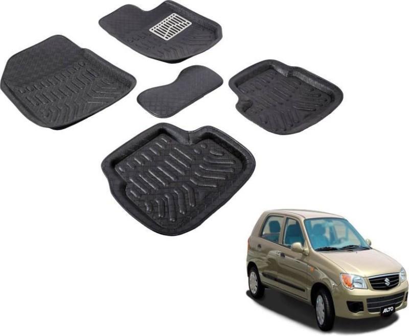 A K Traders Plastic Standard Mat For Maruti Suzuki Alto K10(Black)
