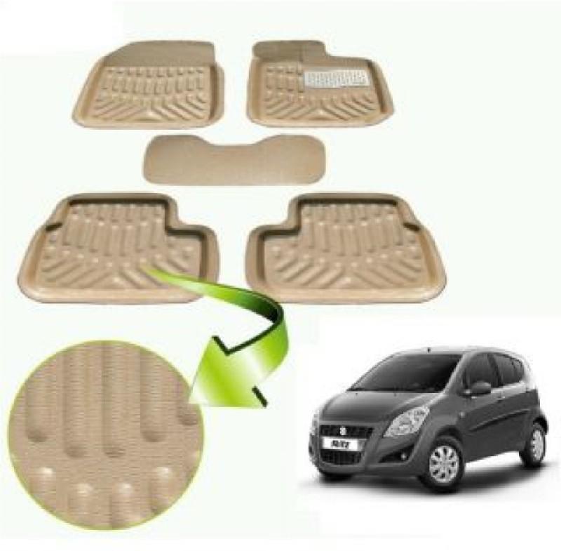 A K Traders Plastic Standard Mat For Maruti Suzuki Ritz(Beige)