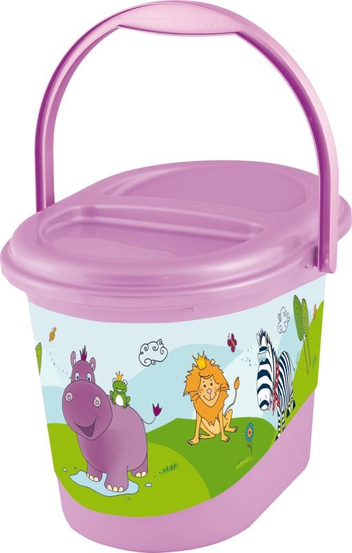 Keeeper Nappy bin Hippo Lilac Diaper Disposal Bin(10)