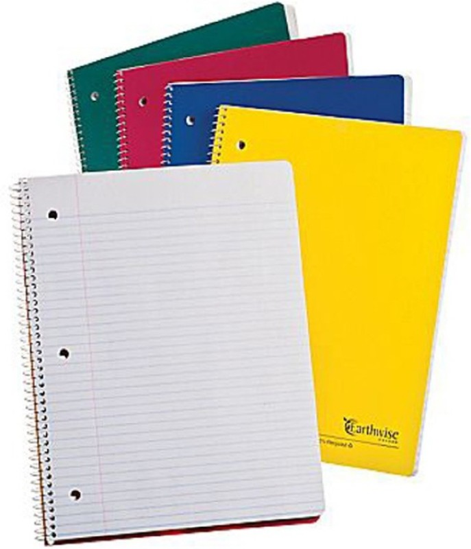 A K Traders A4 Notebook(0, Multicolor, Pack of 5)