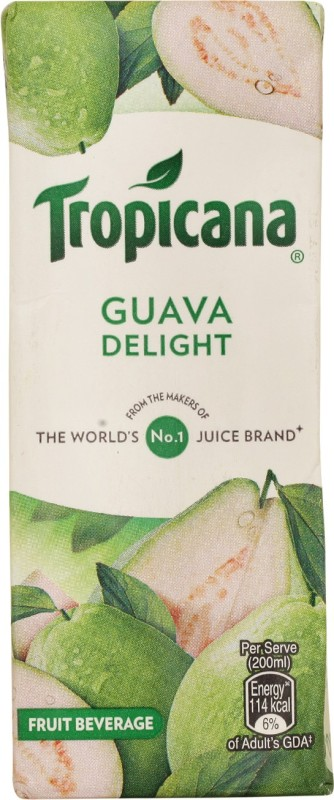 Tropicana Guava Delight Fruit Beverage 200 ml